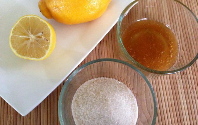 смесь с лимонным соком